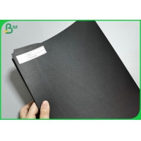 Mix Pulp 120g to 500g A3 A4 Size Solid Black  kraft Paper Board Sheet / Coils Manufactures
