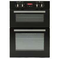 Built in Double Oven with 90L - Black Manufactures