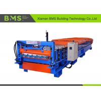 China 29-190-760MM Kirby Style Roof Panel Roll Forming Machine With CE / SGS Certificate on sale