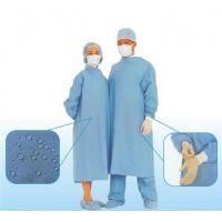 Breathable Disposable Surgical Gowns , Disposable Scrub Suits Manufactures