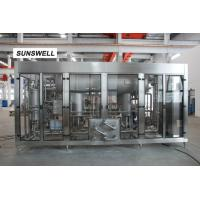 Carbonated drink filling machine full automatic carbonated mixer 16C filling temperaute Manufactures