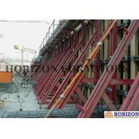 8.9m Height Single Sided Concrete Wall FormsQ235 Steel Channel OEM Available Manufactures