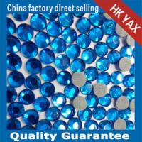 Lead free hotfix rhinestones lead free hotfix strass brown color Manufactures