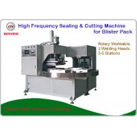 Double Head Rotary Blister Packing Machine For Tools And Household Appliance Clamshell Manufactures