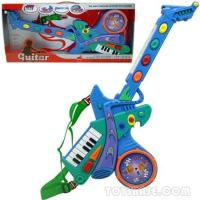 Musical Organ - Battery Operated Guitar W/Music (BZH58508) Manufactures