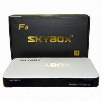 Full HD 1,080p Satellite Receiver/Set-top Box with GPRS Optional Manufactures