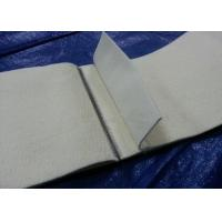 White Polyester Felt Fabric Endless Flat Belt With Hook Joints Manufactures