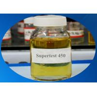 Injectiable Anabolic Steroids Supertest 450 Mg/Ml Pre-mixed Yellow Liquid For Muscle Building Manufactures