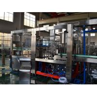 Liquid Water Bottle Packing Machine / Gas Carbonated  Drink Aseptic Filling Equipment Manufactures