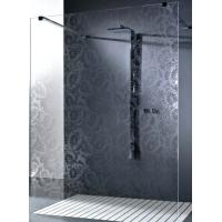 Obscure Pattern Shower Tempered Glass , Tempered Glass Bathroom Manufactures