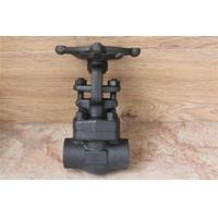 Forged steel gate valve SW end connection 800LB Manufactures