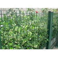 Green Welded Wire Garden Fence Decoration With 1.5-3.0m Width Manufactures