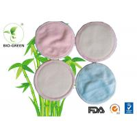 Round Organic Bamboo Breast Pads Absorb Microfiber Materials Founded Manufactures