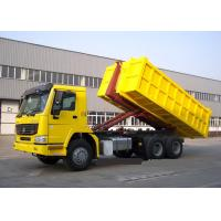 Hydraulic Control System Automated Garbage Collection Truck 6X4 LHD Euro2 Manufactures