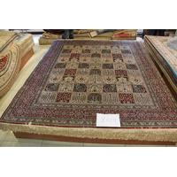 China oriental silk carpet , beautiful design pictures, hand knotted silk rug on sale