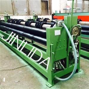 Hexagonal Wire Mesh Gabion Production Line Reno Mattress Machine With CE Certificate Manufactures