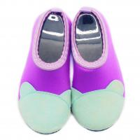 Protective Barefoot Kids Aqua Water Shoes Purple Bare Toe Pattern Various Size Manufactures