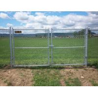 Multifunctional Galvanized Metal Chain Link Fence With Posts / Installing Accessories Manufactures