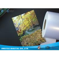 High Glossy Metallic Inkjet Media Supplies 260gsm Resin Coated Inkjet Photo Paper Manufactures