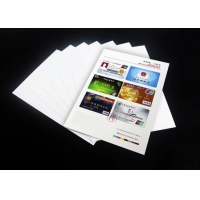 High Quality Best Price 0.3Mm Raw Material Card Printing Laminate Sheet Wholesale A4 Inkjet Printable Pvc Plastic Sheet Manufactures