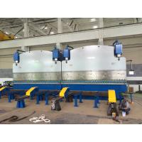 Buy cheap Double linkage cnc hydraulic plate bending machine for light pole production line from wholesalers
