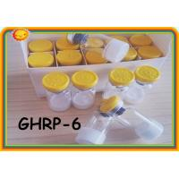 GHRP6 GHRP-6 99% purity Peptides Steroids for Weight Loss Polypetide Hormones 2mg / Vial 87616-84-0 Manufactures
