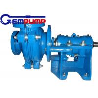 75C-L Centrifugal Slurry Pump for Chemical Process / Heavy Minerals Manufactures