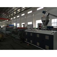 China 1220mm WPC / PVC Extruded Foam Board Machine Production Line for Furniture on sale