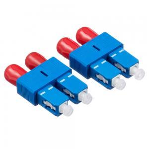 China SC male FC female fiber optic adapter,singlemode duplex/simplex Hybrid Fiber connector on sale