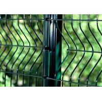 PVC Coated Welded Wire Mesh Panels For Area Protection , Eco Friendly Manufactures