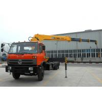 Cheap Hydraulic 12 ton Cargo Lorry-Mounted Crane With Telescopic Boom for sale