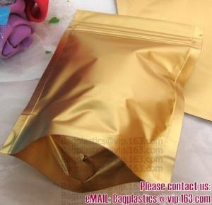 Side Gusset Bags, Quad Sealed Bags, Cookie packaging, Tea pack, Coffee pack, Oil packaging