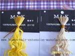 Pre-bonded hair also keratin hair extension (nail hair and stick hair) Manufactures