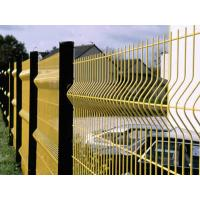 Powder Coated / Galvanized Wire Mesh Fence Panels 3D Curved Easily Assembled Manufactures