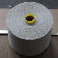 Natural Color 55% Linen 45% Cotton Blended Yarn 30Ne for Weaving and Knitting Manufactures