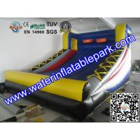 2 Hoop Inflatable Sport Games For Party , Inflatable Basketball Game for Shooting Manufactures