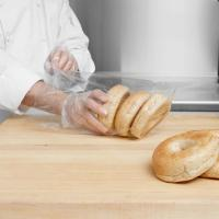 "10"" X 16"" Commercial Food Bags Micro Perforations Clear Film For Bread Manufactures"