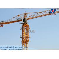 Buy cheap PT5510 Construction Cranes Tower Topflat Towercrane Specifications 6t from wholesalers