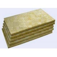 High Strengh Rigid Rockwool Insulation Boards Acoustic Insulation Materials Indoor / Outdoor Manufactures