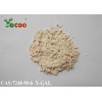 X-GAL CAS NO 7240-90-6  ELISA Reagents 5-Bromo-4-chloro-3-indolyl-beta-D-galactoside  98% Manufactures