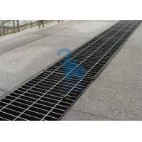 Rectangular Floor Sink Grate Trench Drain Covers Stainless Steel Material