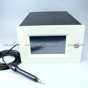 China Aluminium Or Nylon Housing Ultrasonic Plastic Welder With Digital Generator on sale