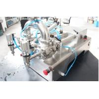 Semi - Automatic Pneumatic Paste Filling Machine With Stainless Steel Material Manufactures