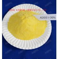 Cheap Light Yellow 31% Al2O3 Polyaluminium Chloride Water Treatment Coagulant PAC Solid for sale
