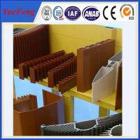 China OEM aluminum profiles for heat sink manufacturer, aluminum company supply types of profile on sale