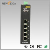 10Gbps 5 Electric port Industrial Gigabit Ethernet Switch din rail mount Manufactures