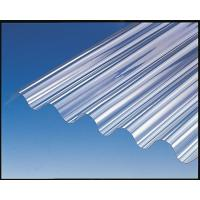 Bayer / GE Polycarbonate Sheet , Corrugated Greenhouse Panels High Strength Manufactures