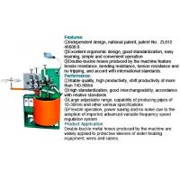 High Standardization Hydraulic Hose Machine , Double Buckle Metal Hose Pipe Making Machine For Wires Manufactures