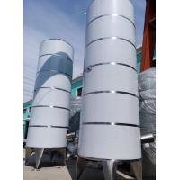 Cheap Fresh Milk Outer door Storage Mixing Tanks Side Agitator  30 Ton for sale
