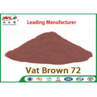 China C I Vat Brown 72 Brown GG Chemical Dyes Used In Textile Industry 100% Strength on sale